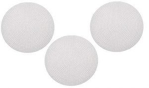 4″ Circular Plastic Needlepoint